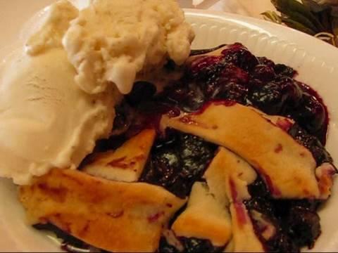 Betty's Quick Trick Blueberry Cobbler Recipe