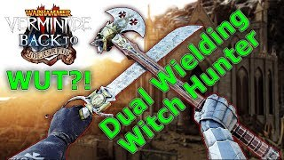 Vermintide 2 [Patch 1.4][SOLO LEGEND] Righteous Stand w/ Witch Hunter Captain + Axe & Falchion