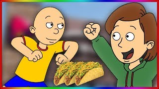 Caillou Behaves at Taco Bell