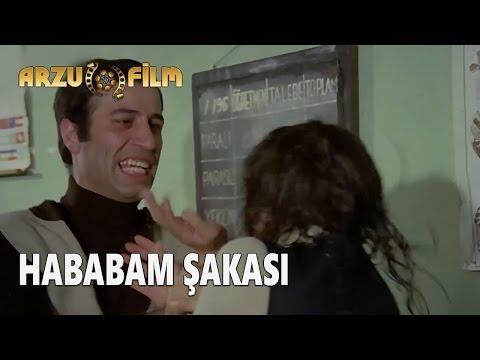 Eski Filmler - Hababam Sınıfı Tatilde - Hababam Şakası