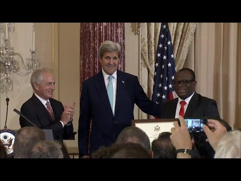 Secretary Kerry Participates in Trafficking In Persons Report Rollout