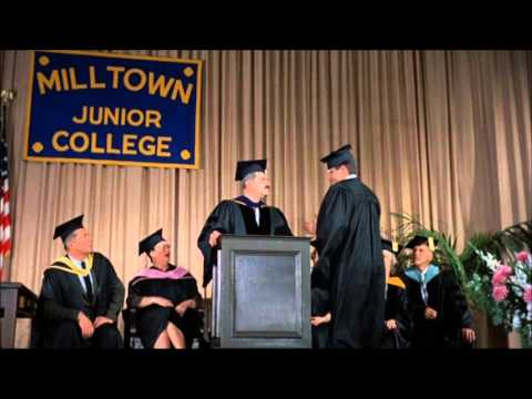 Milton Junior College, extrait de Le Tombeur de ces dames (1961)