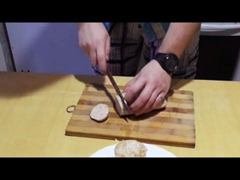 Как сделать вареную колбасу в домашних условиях | Лысый Повар