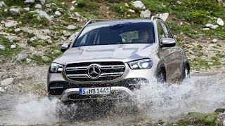 Новый Премиальный КРОССОВЕР Mercedes Benz GLE 2019  тест-драйв по БЕЗДОРОЖЬЮ