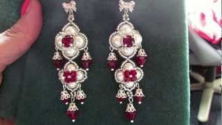 "Beading4perfectionists : ""The Queens Ruby"