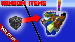 Skyblock, but Every 30 Seconds a Random Item Spawns