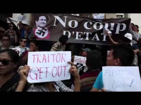 Thailand's Junta Bans All Anti Coup Protests  Breaking News MUST SEE
