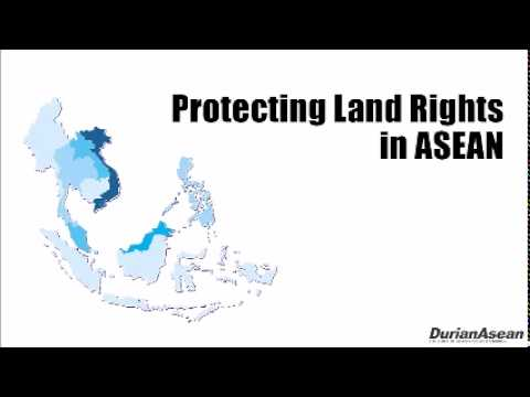 20150119 Monday Morning Matters: Protecting Land Rights in ASEAN