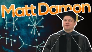Actor Matt Damon offers the 2016 MIT Commencement Address