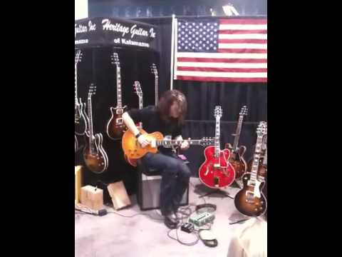 Alex skolnick live at namm 2010