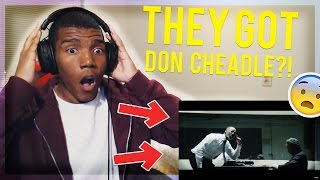 Kendrick Lamar - DNA. - REACTION!!  (THEY GOT DON CHEADLE?!)
