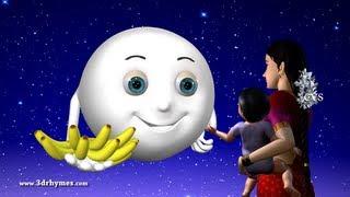Chandamama Raave - 3D Animation Telugu Rhymes for children with lyrics