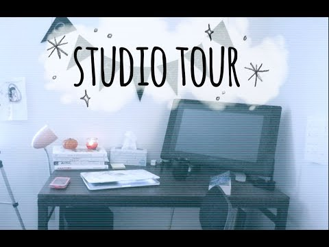 Room/Studio Tour II Junior year @ ECU