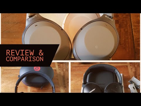 Sony WH-1000XM2 Review & Comparison with Beats Studio 3 Wireless & Bose QC35 II