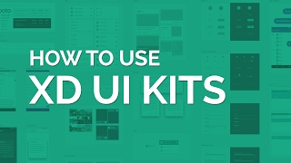 How to use the New Adobe XD UI Kits