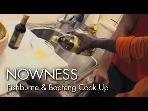NOWNESS.com presents:  Actor Laurence Fishburne and Designer Ozwarld Boateng in the Kitchen