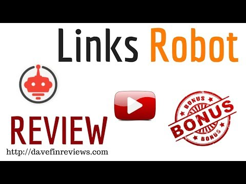 Link Robot Demo + Review - Watch Me Create 500 Backlinks In 10 Seconds