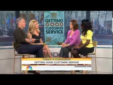How to Get Good Customer Service on TODAY Show by Lifestyle & Etiquette Expert, Elaine Swann