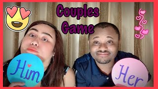 #RelationshipGoal #FunnyGame #HisHerQuestions                                     Funny Couples Game