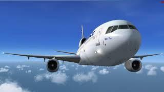(Microsoft Flight Simulator X Steam Edition) London to Paris (Uncut)