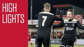 Highlights Almere City - Jong Ajax