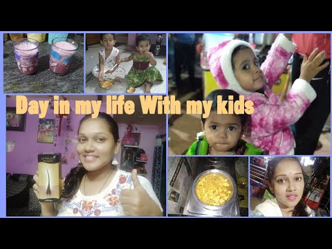 DIML#Indulekha Hair Oiling||Fun Time With My Kids||Promogranate Mojito||Going To Exhibition||
