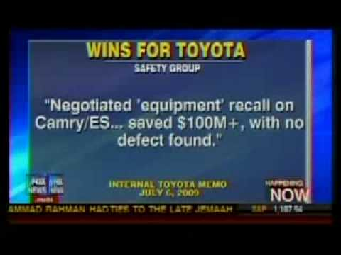 Fox News Covers Breaking GOP Oversight Investigation into Toyota's Recall Problems