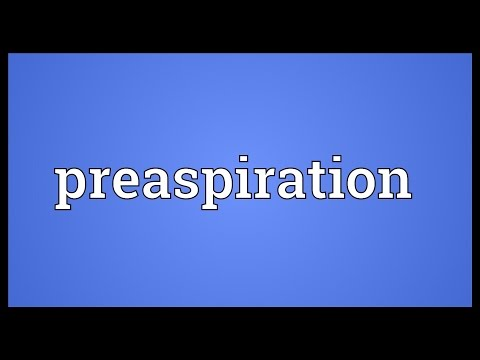 Header of Preaspiration