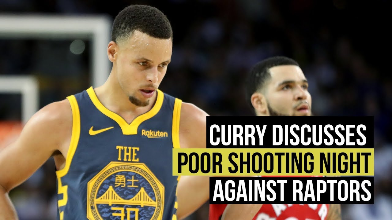 Curry admits Warriors didn't have it against the Raptors