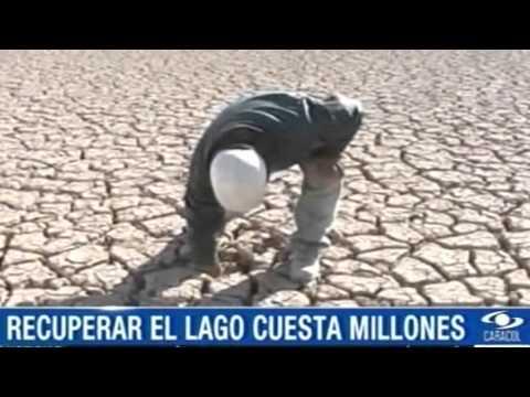El Poopó, el segundo lago más extenso de Bolivia, desaparece por la sequía