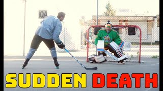 SUDDEN DEATH SHOOTOUT | Pavel Barber VS Henrique Lungfist Roller Hockey Shootout
