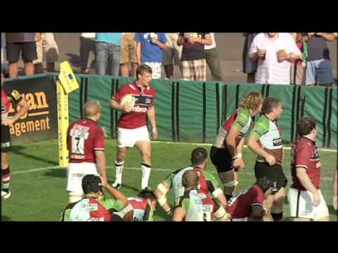 Harlequins vs Sale Sharks - Aviva Premiership Rugby Highlights Round 5 - Harlequins vs Sale Sharks -