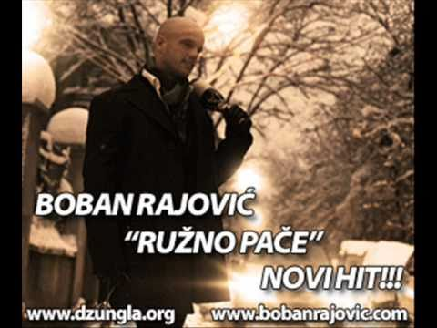 Boban Rajovic ~ Ruzno Pace Lyrics video