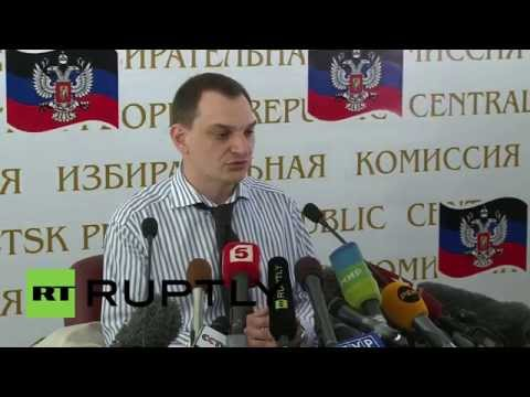 Ukraine: Donetsk referendum being held