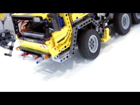 RCBricks - LEGO 42009 Mobile Crane MK II - RC controlled using ServoBrick PRO