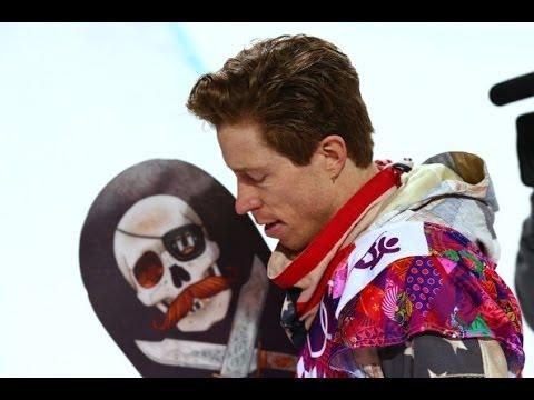 Shaun White Fails Snowboarding at Olympics