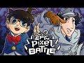 Detective Conan Vs Inspector Gadget - EPIC PIXEL BATTLE