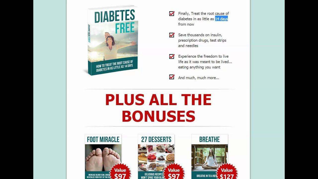 Diabetes Free Dave Pearson