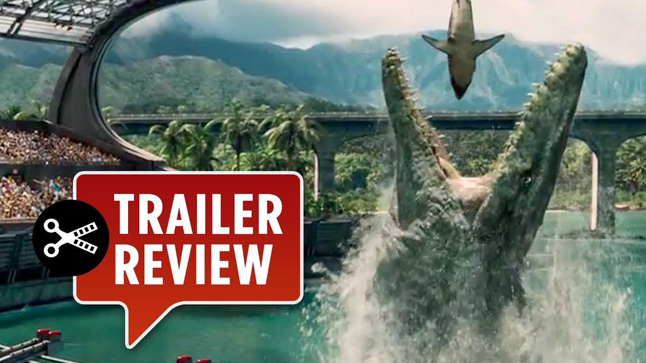 instant trailer review jurassic world official trailer 1