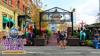 Mardi Gras 2019 and a few other Universal Orlando updates