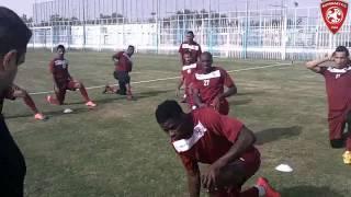 معسكر نادي الفيصلي السعودي في بالأمارات 09-01-2015