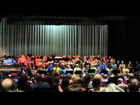 Edwins Elementary School & Fort Walton Beach High School Bands 5/20/14