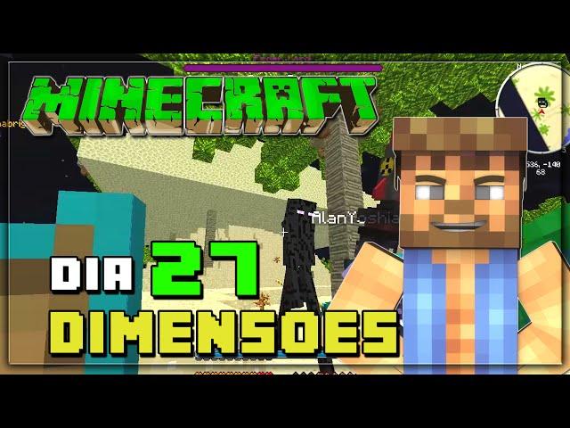 Minecraft - DIMENSÕES #27 - Miner's Dream e ENDER LORD