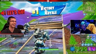 When the teamwork is on point! (Duos with Ninja)