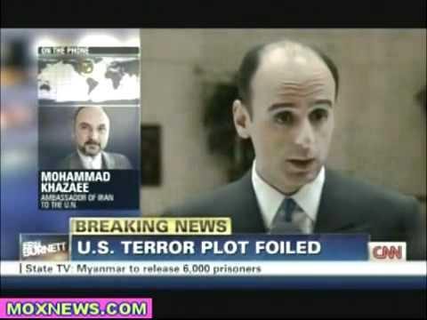 US propaganda. IRAN ambassador to UN