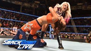Becky Lynch & Mickie James vs. Alexa Bliss & Carmella: SmackDown LIVE, March 28, 2017