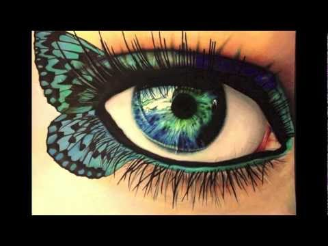 How to draw a realistic eye in color using prismacolor markers
