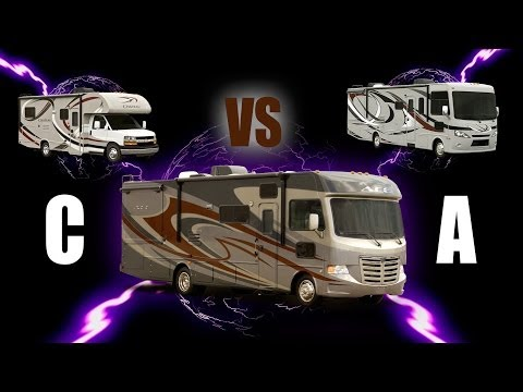 Best of a Class A RV & Class C Motorhome Hybrid: Thor ACE Review