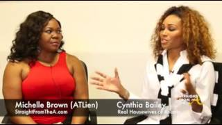 StraightFromTheA Exclusive: RHOA Cynthia Bailey Addresses Blog Rumors & More (3 of 4)