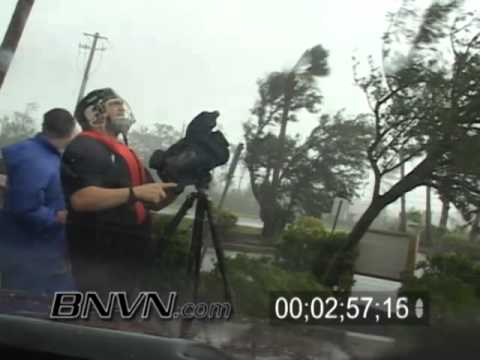 7/10/2005 Hurricane Dennis Video Part 13, In the eye of the Hurricane, Navarre Florida